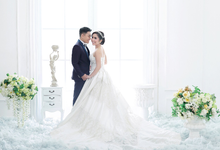 Wedding of Dhina and Agus by Michelle Bridal
