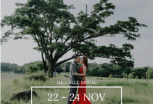 Michelle Bridal on Jakarta Wedding Festival by Michelle Bridal