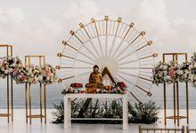 The Wedding of Michelle and Sunggoro by Alila Villas Uluwatu