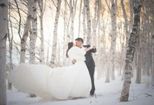[HOKKAIDO] Off to the snow and beyond by The Wedding & Co
