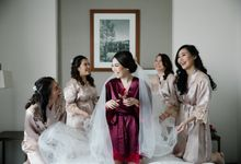Wedding of Agus and Heny by Elina Wang Bridal