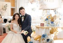 The Wedding of John & Felica by Yumi Katsura Signature