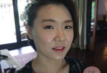 Korean Glass Skin Make Up by mikUP