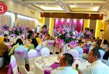Tasyukuran Milad 70th Mr Enjit by B'STEAK CATERING SERVICE