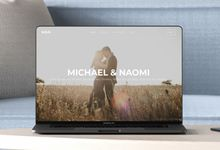 Wedding Website - Michael & Naomi by Our Days & Co - Wedding Website Design