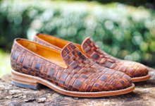 Dress shoes by minen leather