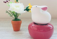 DOOR GIFT- Ceramic Fragrance Diffuser by Lively SG Breeze
