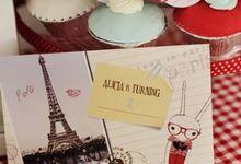 Alicia's Fifi Lapin Birthday Brunch by Minima Creative