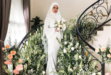Meirissa Hijab Gown custom made by Miracle Atelier