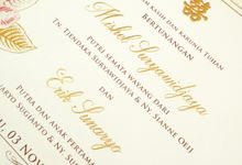 Mishel & Erik by Meltiq Invitation