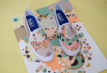 Hand painted Custom Shoes  by MIWA