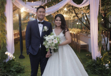 Peter X Levania Wedding by Mj couture