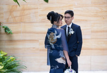 Nerissa Reception Wedding by Mj couture