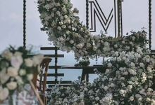 Forest Style Wedding Decoration by Bali Wedding Service