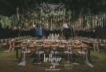 Forest Style Wedding Decoration by Bali Wedding Service