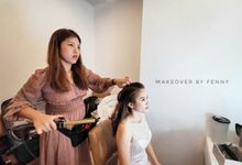 Bridal Makeup And Hairdo (Lunch Session) by Fennymakeupartist