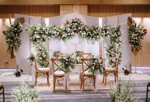 The Wedding of Salma & Jordy at Aloft Hotel by Decor Everywhere