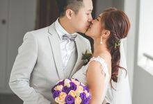 Actual Day Wedding of Michael and Kess by Susan Beauty Artistry