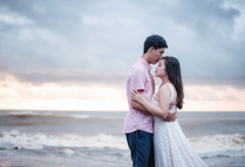 Rhesa and Mery prewedding  by mnm wedding bali