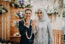 Intimate Wedding of Nita & Deni by Creative Klan Studio