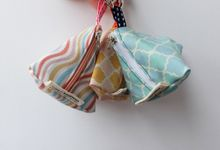 Triangle Pouch by Kawung Living
