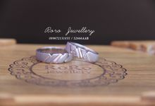 Cincin Pernikahan palladium by RoRo Jewellery