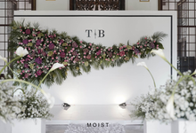 Intimate Wedding of Tiara & Biyan by Moist Decoration