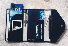 Customized travel wallet ( Wedding Souvenir ) by Molusca Project