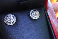 Detachable Earrings Set by Fiftyseven Diamond Jewellery