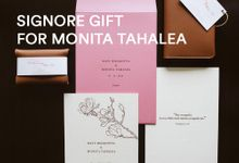 From Monita Tahalea & Bayu Risa Wedding by Signore Gift