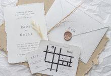 Wedding Invitation - Handmade Paper Classic by Kanoo Paper & Gift