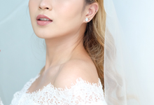Pretty Bride Ms. Silvi ❤️ by Monica Lin MUA
