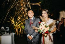 Monica & Nathan Wedding Decoration oleh Nona Manis Creative Planner by Nona Manis Creative Planner