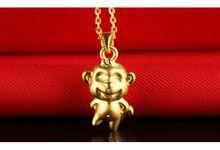 Tiaria Zodiac Monkey Gold Pendant Perhiasan Liontin Emas by TIARIA