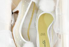 Monroe Bridal Shoes by Evaldo Bridal Shoes