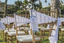 Wesley & Laura Wedding at Morabito Art Villa by Silverdust Decoration