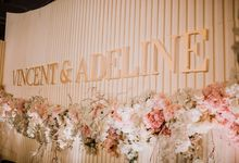 The WEDDING of VINCENT ADELINE by Best Decor