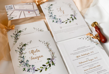From the wedding of Afiola & Fauzan by Moria Invitation