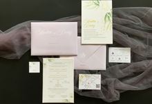 From the wedding of Audita & Dicky by Moria Invitation