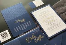 From the wedding of Delvi & Rifky by Moria Invitation