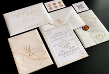 From the wedding of Yoga & Elin by Moria Invitation