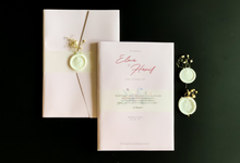 From the wedding of Elma & Hanif by Moria Invitation