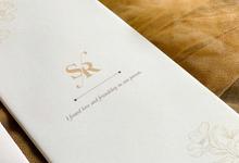 From the wedding of shevanda & rifqi by Moria Invitation