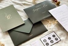 Ganjar & Cici's Wedding Invitation by Moria Invitation