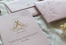 Amel & adit's Wedding Invitation by Moria Invitation