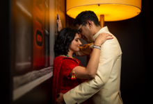 Tina and Yogi Wedding  by Motion D Photography