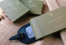 GADIS & IVAN - LUGGAGE TAG by Tjenda Gift