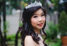 Sweet 17th Clarissa by makeup by marcellans