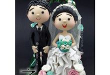 Cute Wedding Figure (type B) by Zakti Laboratory Inc