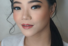 Ms. Thea (Wedding Test Makeup) by MRS Makeup & Bridal